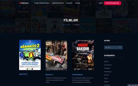 Kinofilm.az portalı