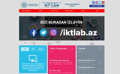 İKT Lab Təhsil İnformasiya Portalı