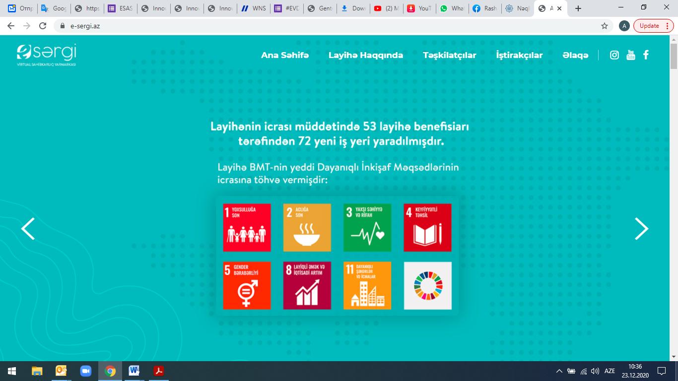 """""""Azərbaycan Regionlarında Dayanıqlı Mikrosahibkarlığın İnkişafının Sürətləndirilməsi"""""""
