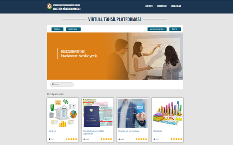 Azərbaycan Respublikası Mərkəzi Bankının Virtual Təhsil Platforması