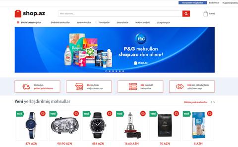Shop.az onlayn alış-veriş platforması
