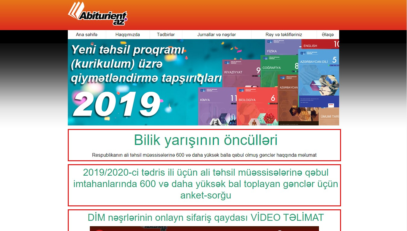 """""""Abituriyent"""" jurnalı"""