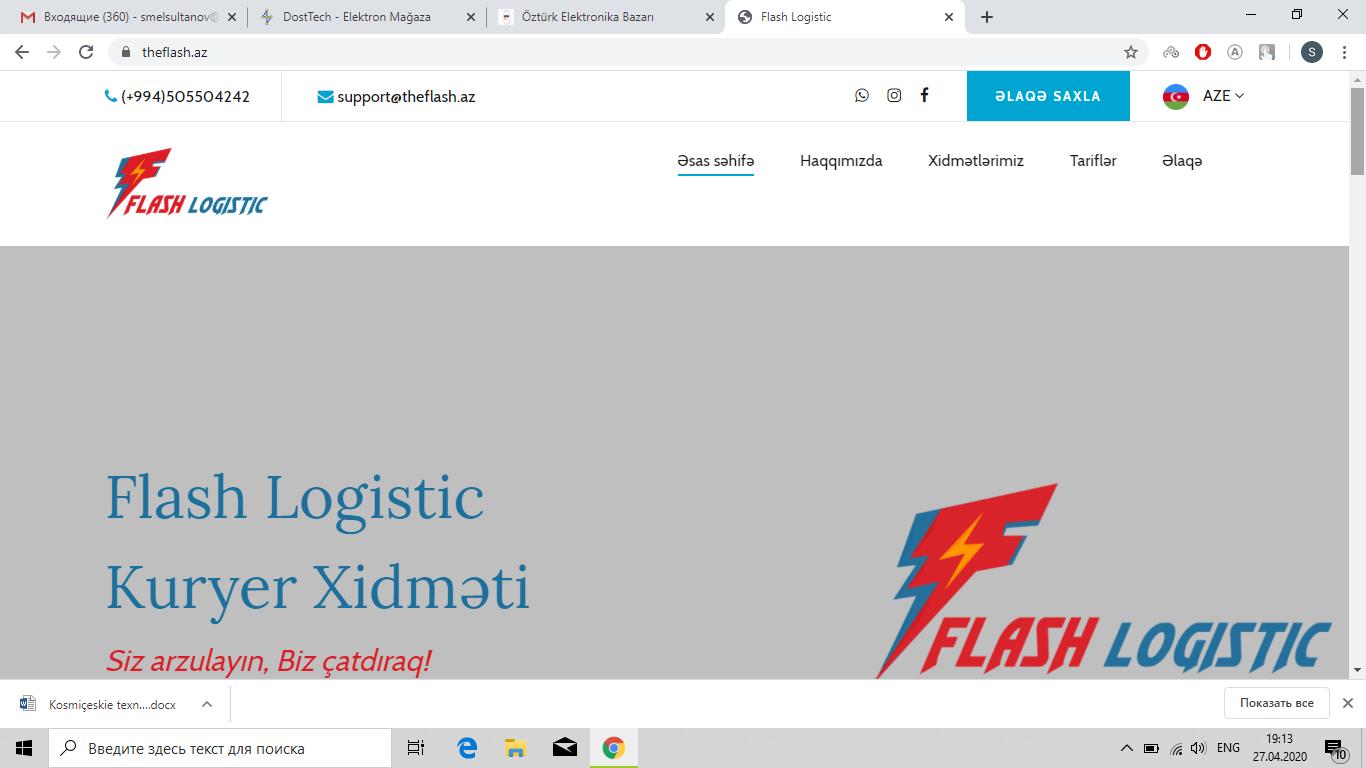 """""""Flash Logistic"""""""