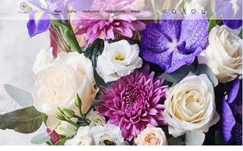 «Lilac» gül butiki