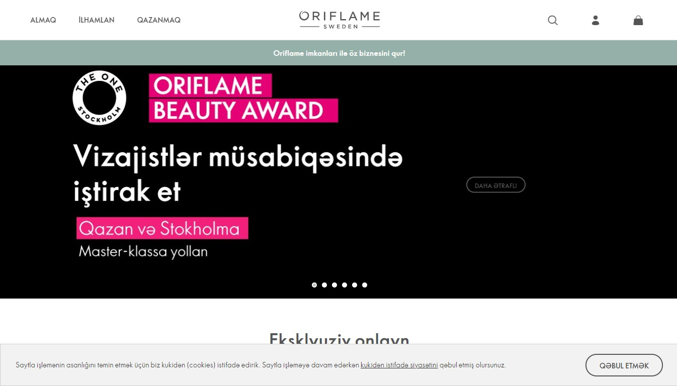 """Oriflame"""