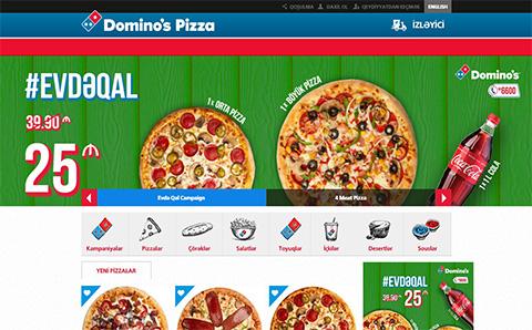 Domino's pizza restoranlar şəbəkəsi